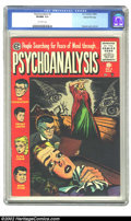 Golden Age (1938-1955):Horror, Psychoanalysis #3 Gaines File pedigree 1/12 (EC, 1955) CGC VF/NM9.0 Off-white pages. Overstreet 2002 NM 9.4 value = $150. ...