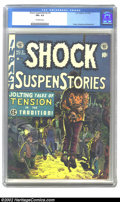 Golden Age (1938-1955):Horror, Shock SuspenStories #5 (EC, 1952) CGC FN+ 6.5 Off-white pages.Davis, Orlando and Wood art. Overstreet 2002 FN 6.0 value = $...