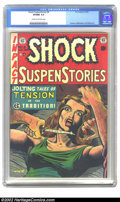 Golden Age (1938-1955):Horror, Shock SuspenStories #8 (EC, 1953) CGC VF/NM 9.0 Cream to off-whitepages. Kamen, Williamson and Wood art. Overstreet 2002 NM...