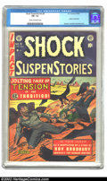 Golden Age (1938-1955):Horror, Shock SuspenStories #9 (EC, 1953) CGC FN- 5.5 Cream to off-whitepages. Injury to eye panel; Kamen, Crandall and Wood art. O...