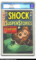 Golden Age (1938-1955):Horror, Shock SuspenStories #15 (EC, 1954) CGC FN+ 6.5 Off-white pages.Kamen, Crandall and Wood art. Overstreet 2002 FN 6.0 value =...