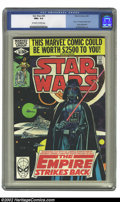"Modern Age (1980-Present):Science Fiction, Star Wars #39 (Marvel, 1980) CGC NM+ 9.6 Off-white to white pages.Al Williamson art brings Part 1 of the ""Empire Strikes Ba..."