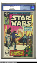 """Modern Age (1980-Present):Science Fiction, Star Wars #43 (Marvel, 1981) CGC NM+ 9.6 Off-white to white pages.Al Williamson art depicts Part 5 of """"Empire Strikes Back""""..."""