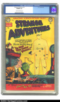 Golden Age (1938-1955):Horror, Strange Adventures #5 (DC, 1951) CGC VF/NM 9.0 Cream to off-whitepages. Overstreet 2002 NM 9.4 value = $1025. ...