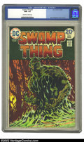 Bronze Age (1970-1979):Horror, Swamp Thing #9 (DC, 1974) CGC NM+ 9.6 Off-white to white pages.Bernie Wrightson cover and art. Overstreet 2002 NM 9.4 value...