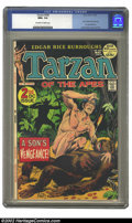 Bronze Age (1970-1979):Miscellaneous, Tarzan #208 (Dell, 1972) CGC NM+ 9.6 Off-white to white pages. JohnCarter backup story by Gray Morrow, as illustrated by Jo...