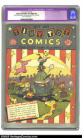 Golden Age (1938-1955):Funny Animal, Tiny Tot Comics #3 (EC, 1946) CGC Apparent VG/FN 5.0 Slight (A)Cream to off-white pages. Restoration includes color touch-u...