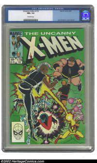 Uncanny X-Men, The #178 (Marvel, 1984) CGC NM+ 9.6 Off-white pages. John Romita Jr. cover and art. Overstreet 2002 NM 9...