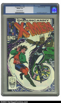 Uncanny X-Men, The #180 (Marvel, 1984) CGC NM/MT 9.8 Off-white to white pages. John Romita Jr. cover and art. Overstreet...