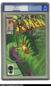 Uncanny X-Men, The #181 (Marvel, 1984) CGC NM+ 9.6 Off-white to white pages. John Romita Jr. & Dan Green art. Overst...