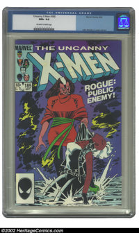 Uncanny X-Men, The #185 (Marvel, 1984) CGC NM+ 9.6 Off-white to white pages. John Romita Jr. cover and art. Overstreet 2...