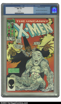 Uncanny X-Men, The #190 (Marvel, 1985) CGC NM+ 9.6 White pages. Spider-Man and Avengers appearance; John Romita Jr. &...