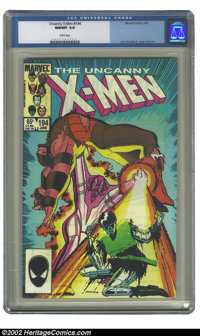 Uncanny X-Men, The #194 (Marvel, 1985) CGC NM/MT 9.8 White pages. John Romita Jr. cover and art. Overstreet 2002 NM 9.4...