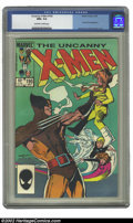 Modern Age (1980-Present):Superhero, Uncanny X-Men, The #195 (Marvel, 1985) CGC NM+ 9.6 Off-white to white pages. Bill Sienkiewicz cover and John Romita Jr. art....