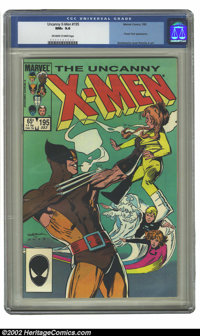 Uncanny X-Men, The #195 (Marvel, 1985) CGC NM+ 9.6 Off-white to white pages. Bill Sienkiewicz cover and John Romita Jr...