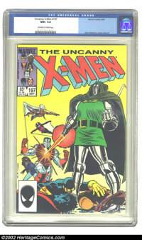 Uncanny X-Men, The #197 (Marvel, 1985) CGC NM+ 9.6 Off-white to white pages. John Romita Jr. cover and art. Overstreet 2...