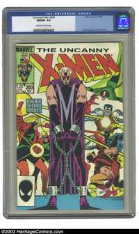 Uncanny X-Men, The #200 (Marvel, 1985) CGC NM/MT 9.8 Off-white to white pages. John Romita Jr. cover and art. Overstreet...