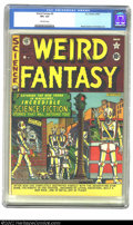 Golden Age (1938-1955):Science Fiction, Weird Fantasy #6 (EC, 1951) CGC VF+ 8.5 Off-white pages. Robotcover; Wood, Kamen and Kurtzman art. Overstreet 2002 VF 8.0 v...