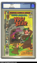 Bronze Age (1970-1979):Cartoon Character, Yogi Bear #1 (Marvel, 1977) CGC NM- 9.2 Off-white to white pages.Overstreet 2002 NM 9.4 value = $45. ...