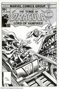 Original Comic Art:Covers, Gene Colan and Tom Palmer - Original Cover Art for The Tomb ofDracula #52 (Marvel, 1977). A fine piece of craftsmanship by ...