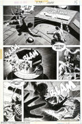 Original Comic Art:Panel Pages, Russ Heath - Original Art for Our Army at War #279, page 11 (DC,1975). Spectacular action page as Rock and Easy attack a Na...