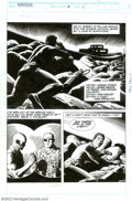 Original Comic Art:Complete Story, Russ Heath - Original Art to The Punisher #90, Complete 20-pageStory (Marvel, 1994). Blistering action and hot babes mark R...