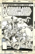Original Comic Art:Covers, Bob Layton and Marie Severin - Original Cover Art for Power Man andIron Fist #60 (Marvel, 1979). Power Man and his bud Iron...