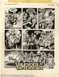 "Original Comic Art:Panel Pages, Gonzalo Mayo - Original Art for Vampirella #69, Complete 12-PageStory, ""The Phantom of Hollywood"" (Warren, 1978). Here's a ..."