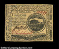 Colonial Notes:Continental Congress Issues, Continental Currency February 17, 1776 $4 Gem New. Broadly ...