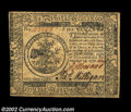 Colonial Notes:Continental Congress Issues, Continental Currency February 17, 1776 $5 Gem New. A ...