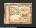 Colonial Notes:Continental Congress Issues, January 14, 1779, $65, Continental Congress Issue, CC-100, XF-...
