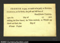 Colonial Notes:Pennsylvania, Pennsylvania Promissory Note, CU. This is a lovely piece of ...