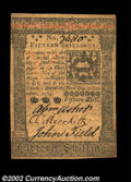 Colonial Notes:Pennsylvania, Pennsylvania October 1, 1773 15s Extremely Fine. Well ...