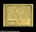 Colonial Notes:Rhode Island, Rhode Island July 2, 1780 $5 Superb Gem New. This perfect ...
