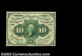 Fractional Currency:First Issue, Fr. 1242 10c First Issue Very Choice New. Spectacular ...