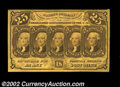 Fractional Currency:First Issue, Fr. 1281 25c First Issue Gem New. The colors of this ...