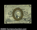 Fractional Currency:Second Issue, FR. 1233 5¢ Second Issue Choice New. Tightly margined, but ...