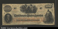 Confederate Notes:1862 Issues, 1862 $100 J.C. Calhoun on left; Slaves weeding Cotton in ...