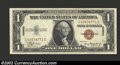 Small Size:World War II Emergency Notes, 1935-A $1 Hawaii Silver Certificate, Fr-2300, Gem CU. This is ...
