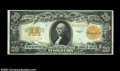 Large Size:Gold Certificates, Fr. 1187 $20 1922 Gold Certificate Gem New. A bright, fresh...