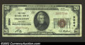National Bank Notes:Kentucky, Princeton, KY - $20 1929 Ty. 1 First National Bank of ...
