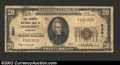 National Bank Notes:Kentucky, Somerset, KY - $20 1929 Ty. 1 Farmers NB of Somerset ...
