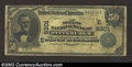 National Bank Notes:Pennsylvania, Pittsburgh, PA - $50 1902 Date Back Fr. 667 Mellon ...