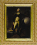 Political:Miscellaneous Political, George Washington: Superb 1849-Dated Oil Portrait After GilbertStuart....