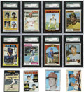 Baseball Cards:Lots, 1950's through 1980's Baseball Collection (91 cards).Offered is abaseball card collection of 91 star cards from the 1950's ...
