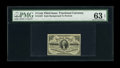 Fractional Currency:Third Issue, Fr. 1227 3c Third Issue PMG Choice Uncirculated 63 EPQ. A slightly large margin at right and this piece would likely have ga...