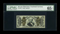 Fractional Currency:Third Issue, Fr. 1331 50c Third Issue Spinner PMG Gem Uncirculated 65 EPQ. Solid margins are noted on both sides of this deeply embossed ...