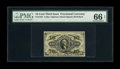 Fractional Currency:Third Issue, Fr. 1253 10¢ Third Issue PMG Gem Uncirculated 66 EPQ. Four huge margins encircle the frame on this very well printed and bol...