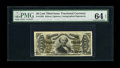 Fractional Currency:Third Issue, Fr. 1329 50c Third Issue Spinner PMG Choice Uncirculated 64 EPQ. This scarcer-signature-combination note has excellent margi...