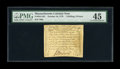 Colonial Notes:Massachusetts, Massachusetts October 16, 1778 1s/6d PMG Choice Extremely Fine 45. This is a very high grade example of this always popular ...